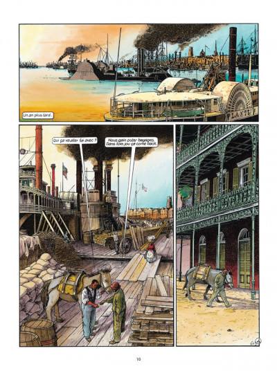 Page 4 Les Passagers du vent tome 6 - La Petite Fille Bois-Caïman - Livre 1