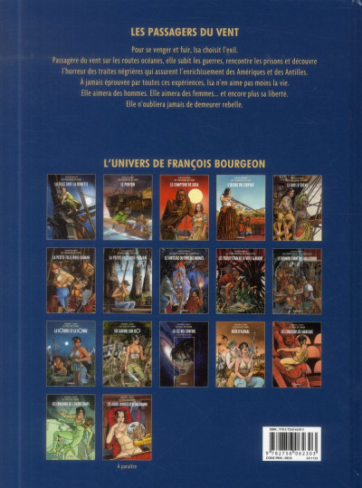 Dos Les Passagers du vent tome 7 - La Petite Fille Bois-Caïman - Livre 2