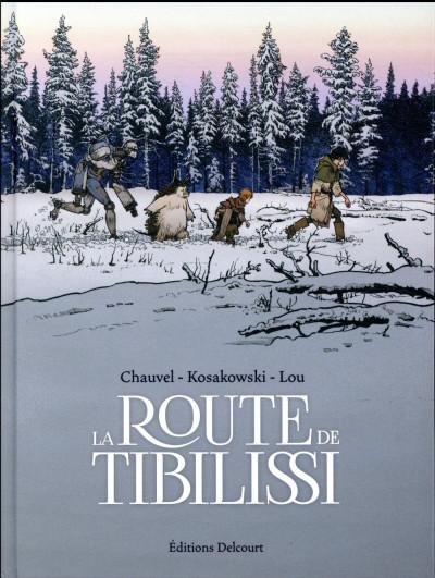 Couverture La route de tibilissi