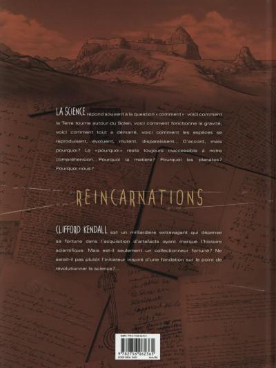 Dos Réincarnations tome 1 - La fondation Kendall
