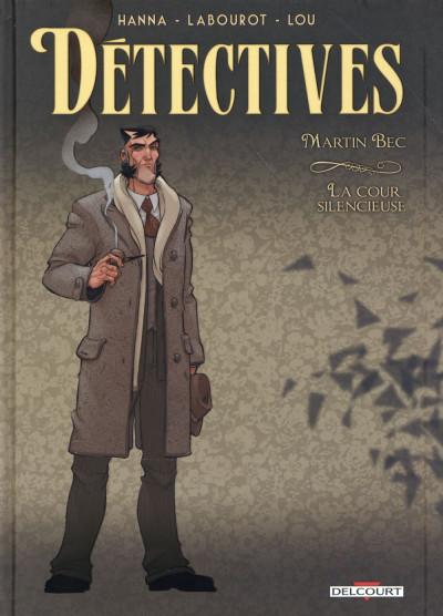 Couverture Détectives tome 4