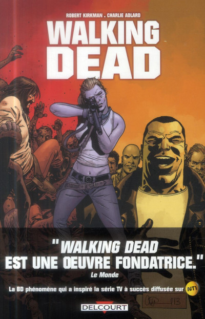 Couverture Walking Dead tome 21