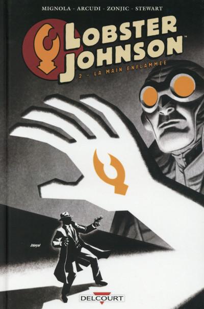 Couverture Lobster Johnson tome 2 - La main enflammée