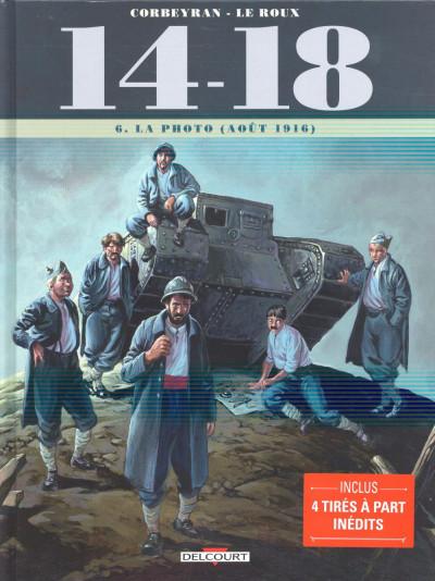 Couverture 14-18 tome 6 - La photo (août 1916)