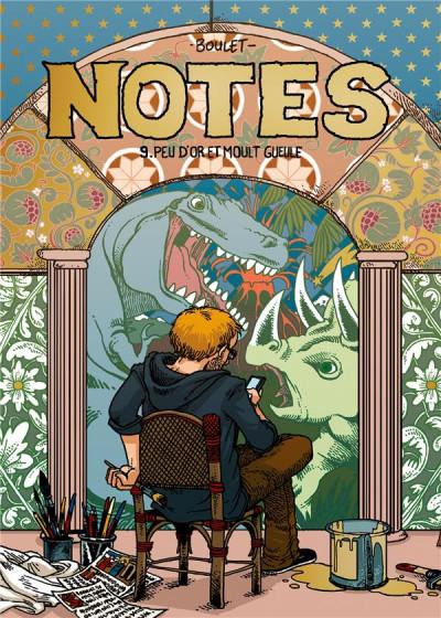 Couverture Notes tome 9 - Peu d'or et moult gueule