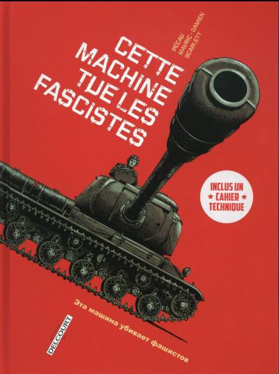 Couverture Cette machine tue les fascistes