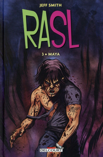 Couverture RASL tome 3 - Maya