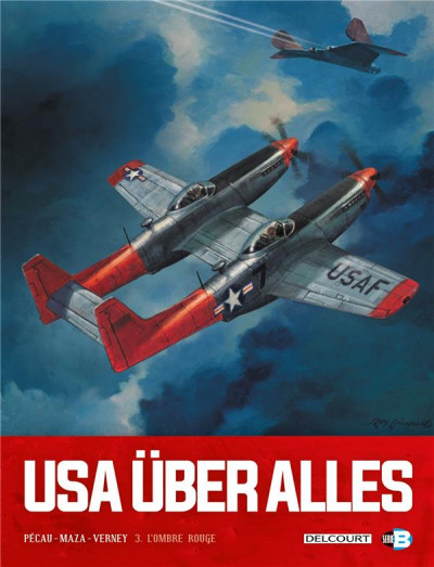 Couverture USA über alles tome 3
