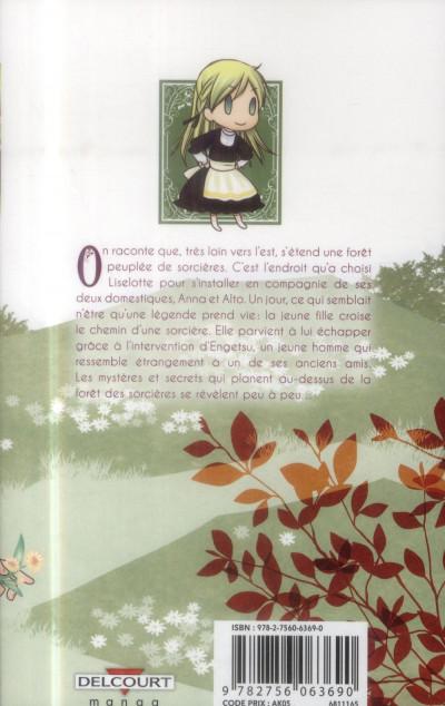 Dos Liselotte et la forêt des sorcières tome 1