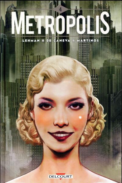 Couverture Metropolis tome 4