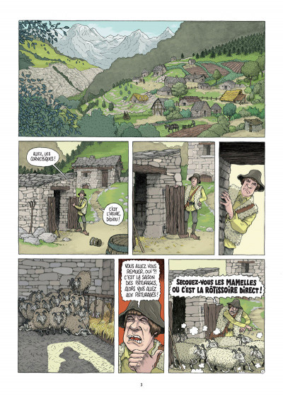 Page 1 Traquemage tome 1
