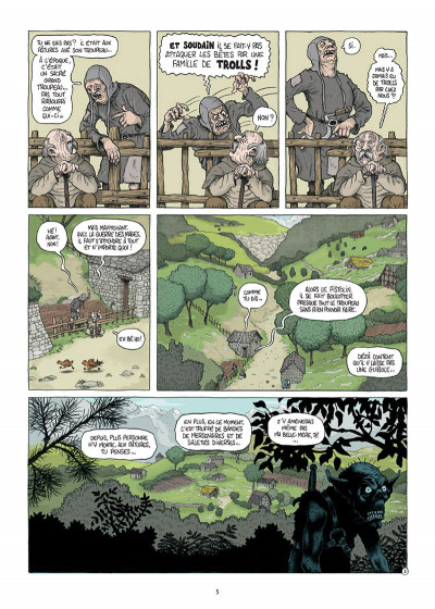 Page 3 Traquemage tome 1