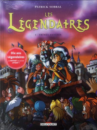 Couverture Les Légendaires tome 3 - Frères ennemis (+ magnet, éd. limitée)