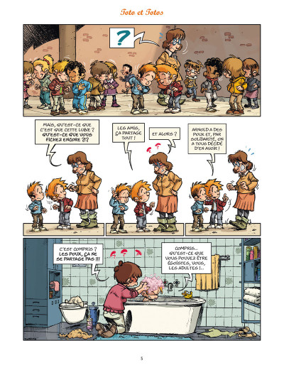 Page 3 Les blagues de Toto tome 13