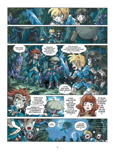 Page 1 Les Légendaires tome 20