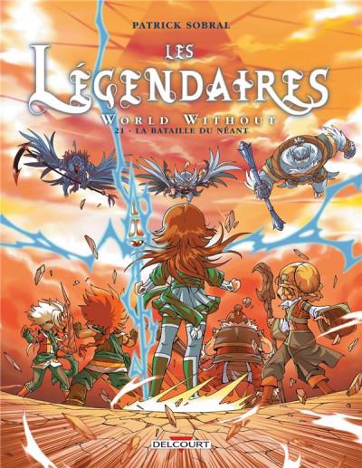 Couverture Les Légendaires tome 21 - La bataille du néant