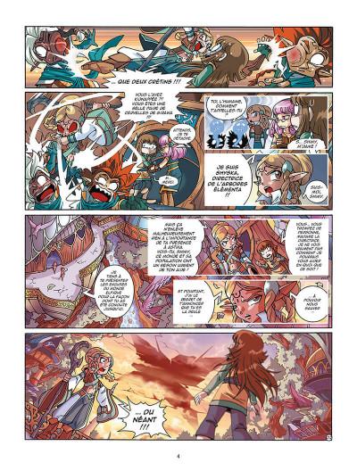 Page 2 Les Légendaires tome 21 - La bataille du néant