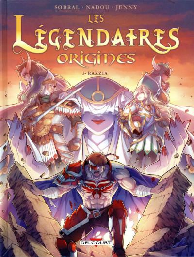 Couverture Les Légendaires - Origines tome 5