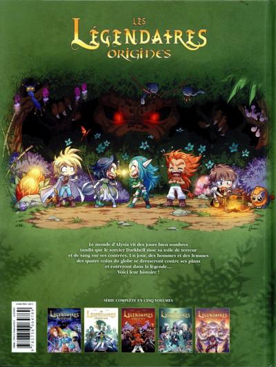 Dos Les Légendaires - Origines tome 5