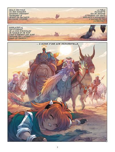 Page 1 Les Légendaires - Origines tome 5