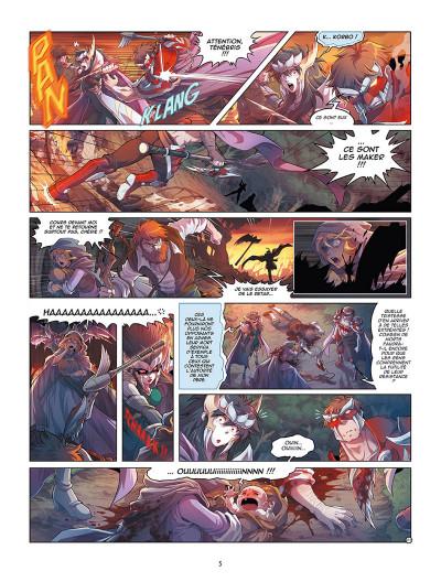 Page 3 Les Légendaires - Origines tome 5
