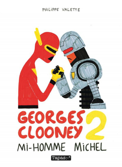 Couverture Georges Clooney tome 2