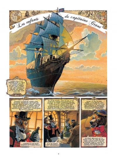 Page 2 Les enfants du capitaine Grant, de Jules Verne - intégrale
