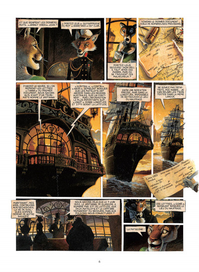 Page 4 Les enfants du capitaine Grant, de Jules Verne - intégrale