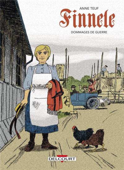 Couverture Finnele tome 2