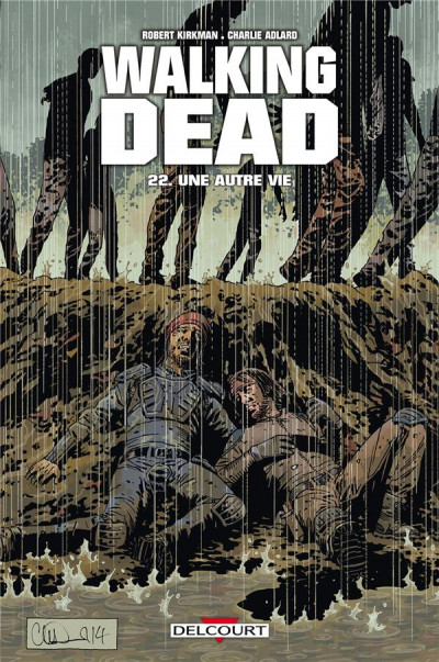 Couverture Walking Dead tome 22