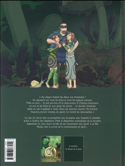 Dos Neska du clan du Lierre tome 1 - Le Marché des coccinelles