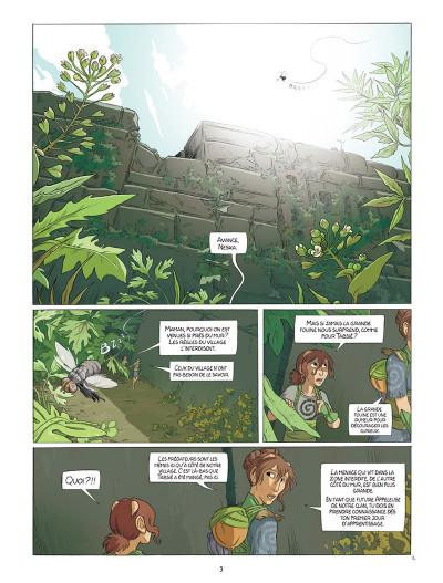 Page 1 Neska du clan du Lierre tome 1 - Le Marché des coccinelles