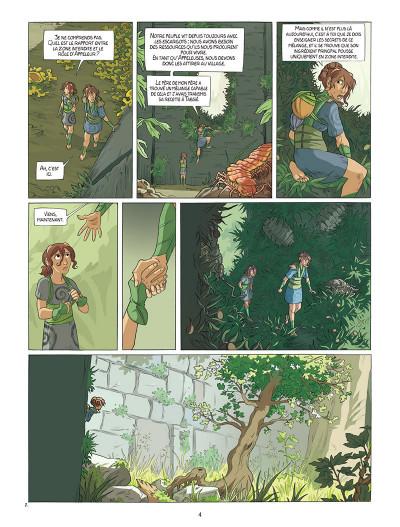 Page 2 Neska du clan du Lierre tome 1 - Le Marché des coccinelles