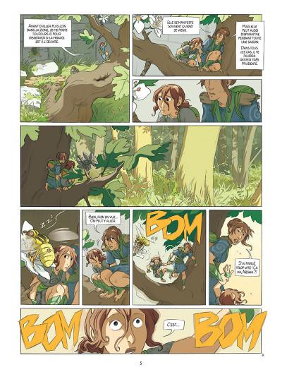 Page 3 Neska du clan du Lierre tome 1 - Le Marché des coccinelles