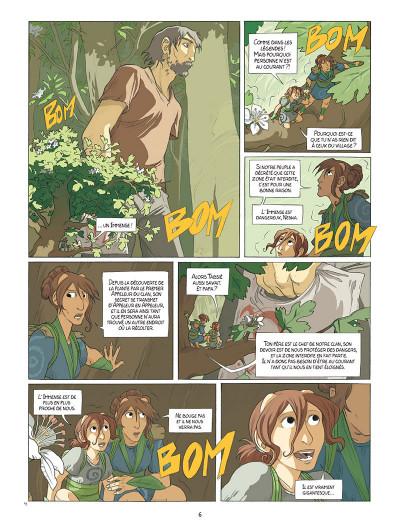 Page 4 Neska du clan du Lierre tome 1 - Le Marché des coccinelles