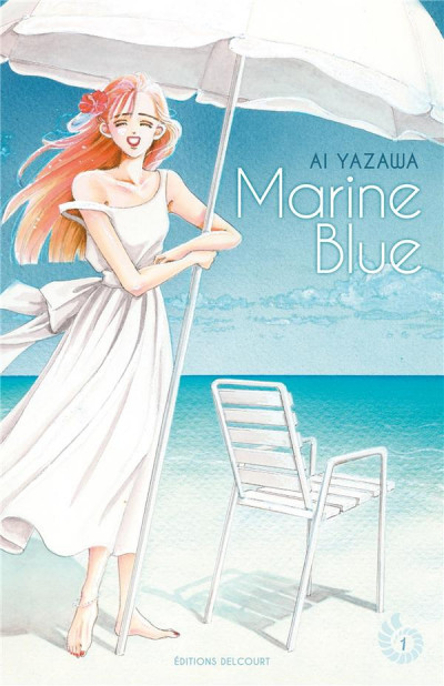 Couverture Marine Blue tome 1
