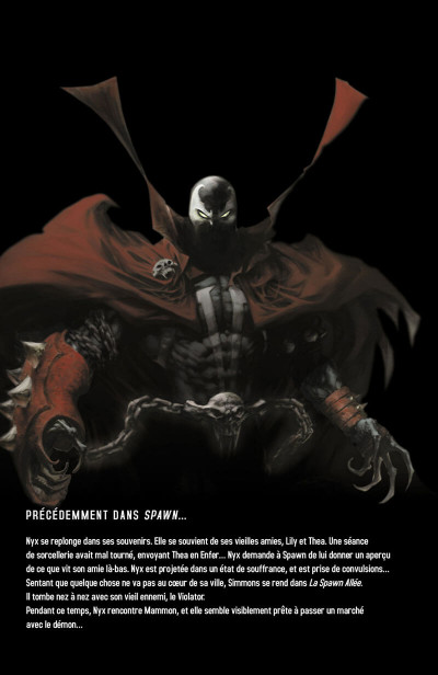 Page 3 Spawn tome 13 - Abomination