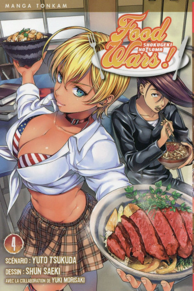 Couverture Food Wars tome 4