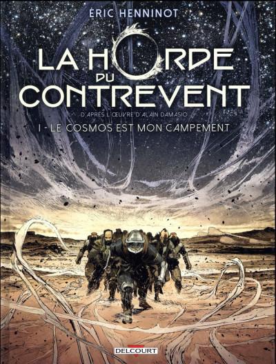 Couverture La Horde du Contrevent tome 1 + ex-libris offert