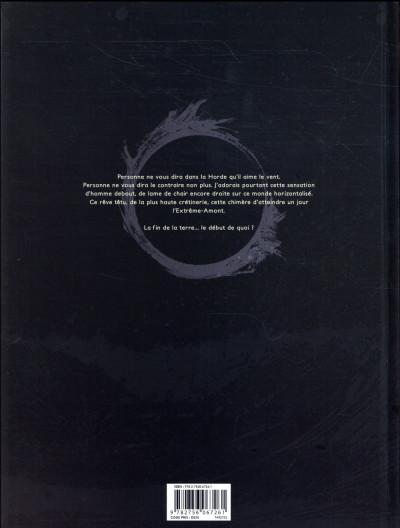 Dos La Horde du Contrevent tome 1 + ex-libris offert
