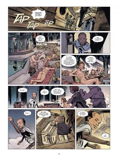 Page 3 La Horde du Contrevent tome 1 + ex-libris offert