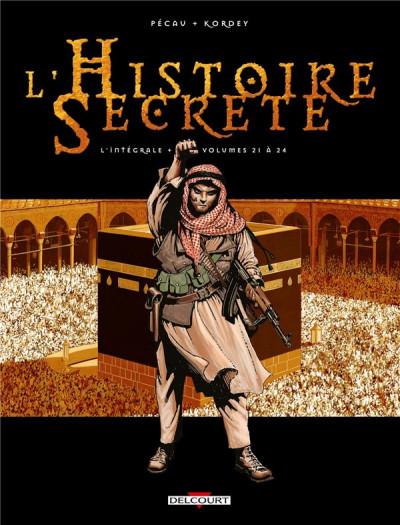 Couverture L'Histoire secrète - Intégrale tome 21 à tome 24