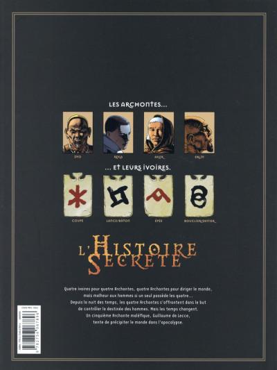 Dos L'Histoire secrète - Intégrale tome 21 à tome 24