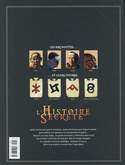 Dos L'Histoire secrète - Intégrale tome 25 à tome 28