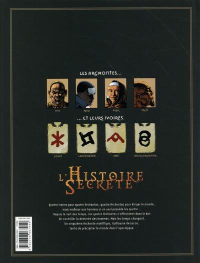 Dos L'Histoire secrète - Intégrale tome 29 à tome 32