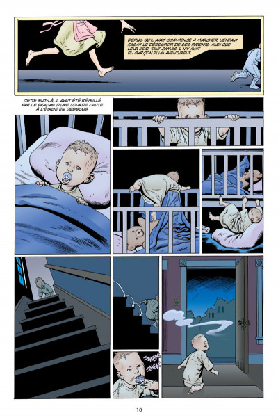 Page 6 L'étrange vie de Nobody Owens tome 1
