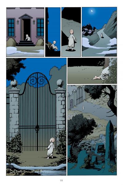 Page 7 L'étrange vie de Nobody Owens tome 1