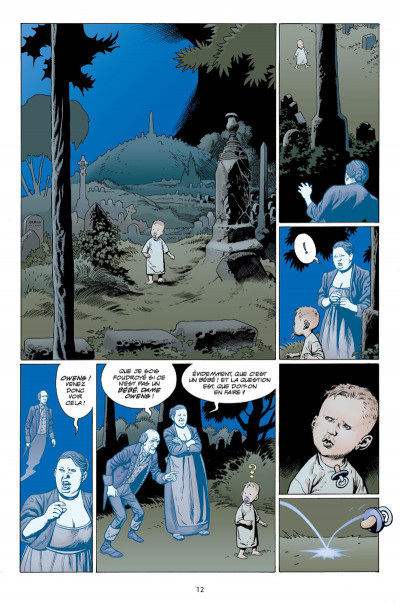 Page 8 L'étrange vie de Nobody Owens tome 1