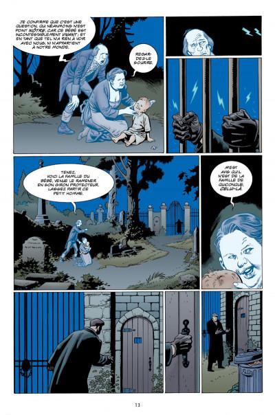 Page 9 L'étrange vie de Nobody Owens tome 1