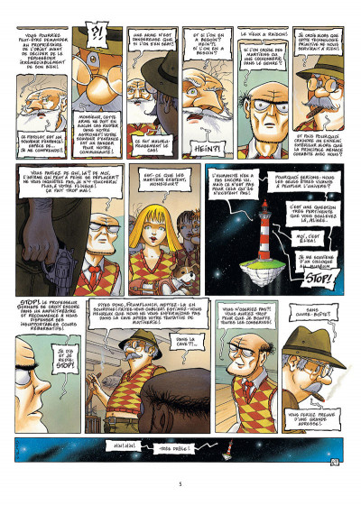 Page 3 Le Voyage improbable tome 2